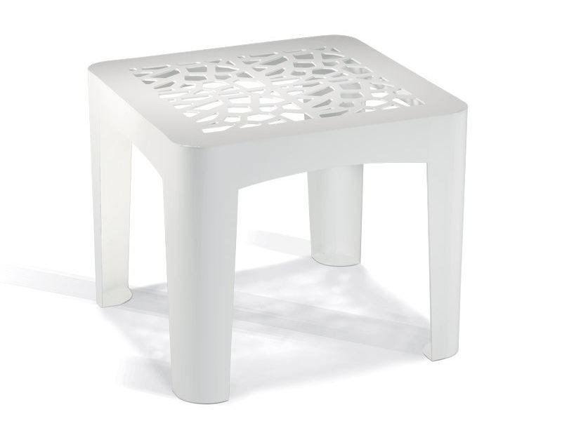 Galvanized steel coffee table CORAL TABLE by LAB23