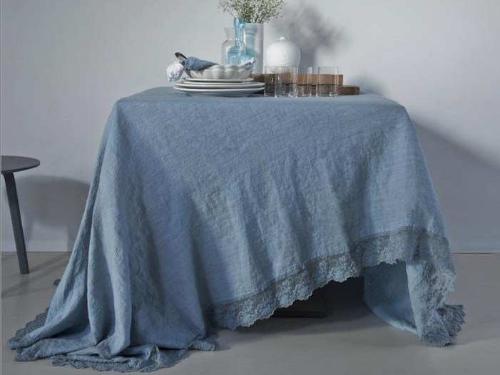 Linen tablecloth CORALLI | Tablecloth by LA FABBRICA DEL LINO
