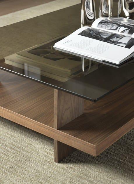 CORALLO | Tavolino con vano contenitore
