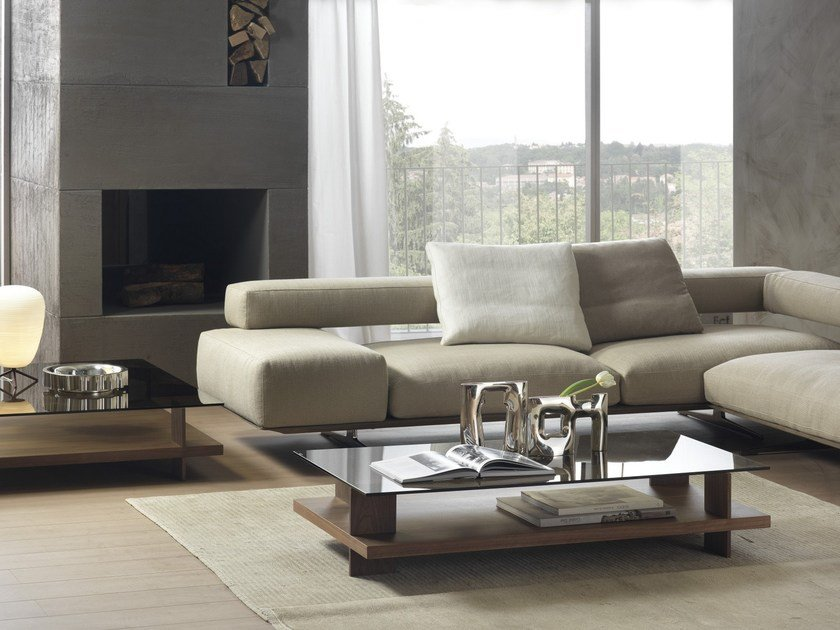 CORALLO | Coffee table with storage space By Pacini & Cappellini ...