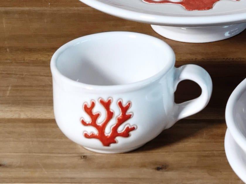 Tazza in ceramica CORALLO | Tazza by Cerasarda