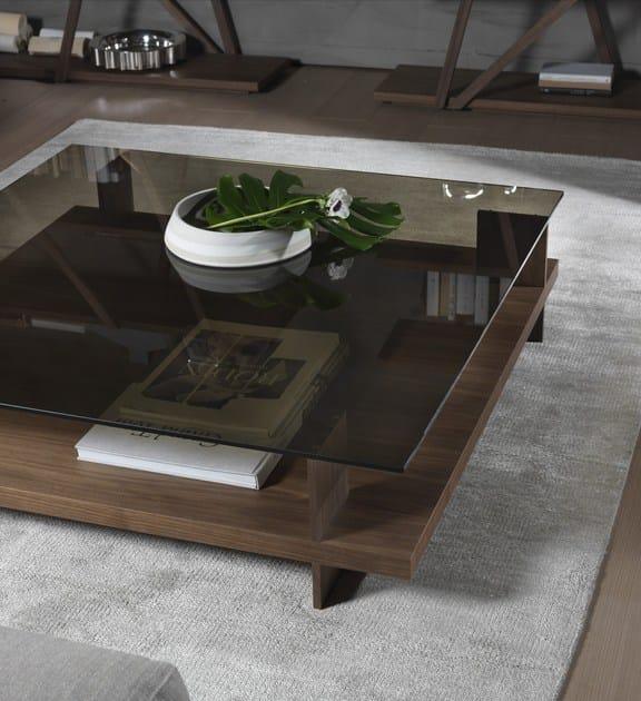 CORALLO   Tavolino quadrato