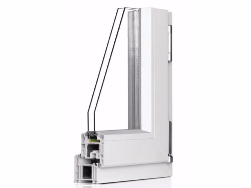 PVC window CORALLO TL 700 by Cos.Met.