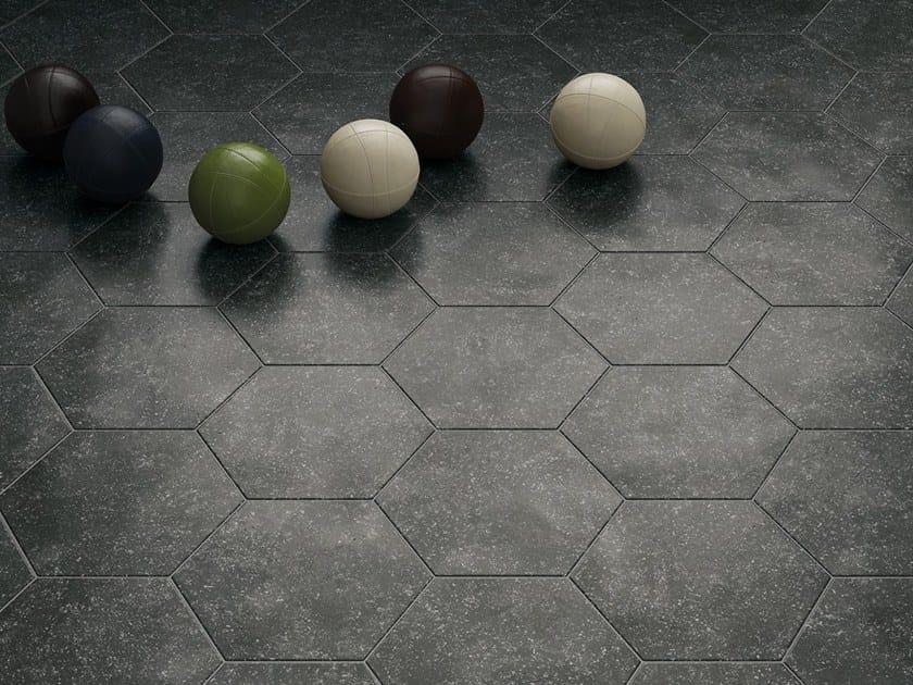 Anti-slip indoor/outdoor wall/floor tiles with granite effect CORALSTONE by EQUIPE CERAMICAS