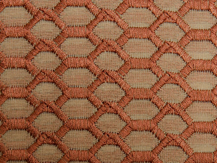 Washable polyester fabric for curtains CORD by Aldeco