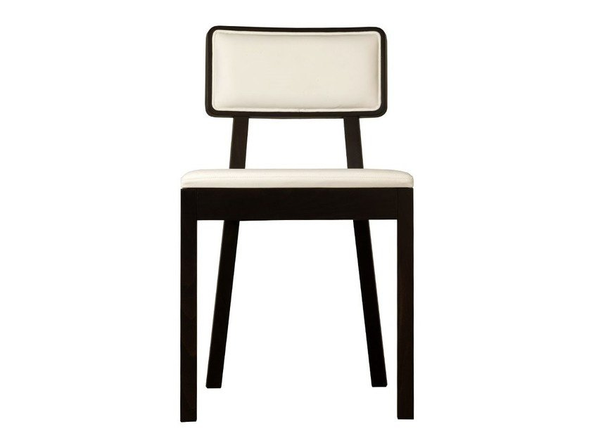 Upholstered wooden chair CORDOBA | Upholstered chair by TON