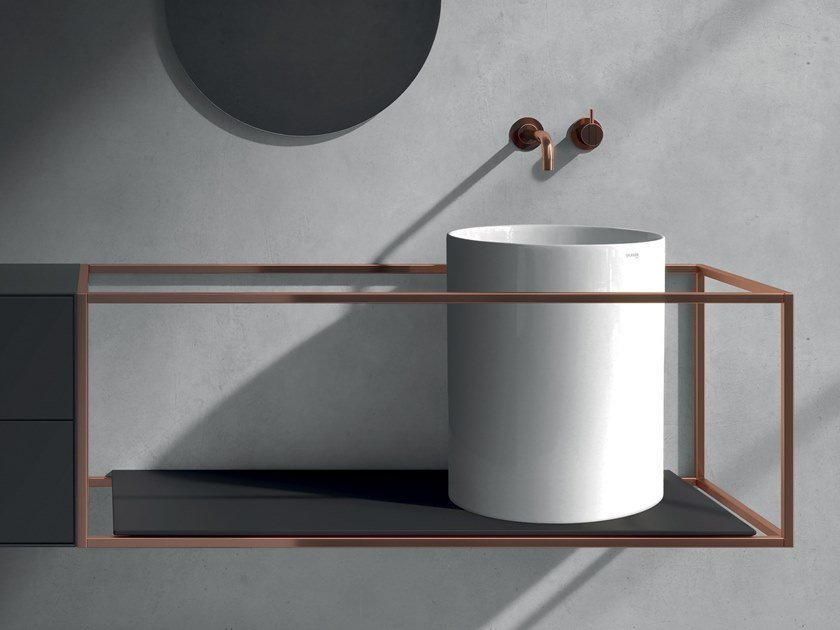 Countertop ceramic washbasin CORE | Countertop washbasin by GALASSIA