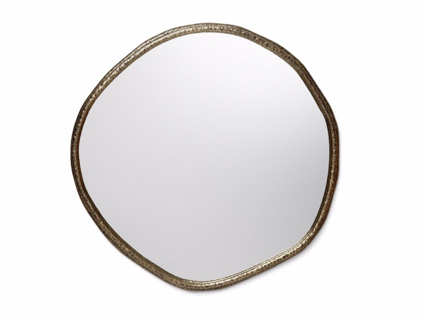 Round wall-mounted mirror CORE by Ginger & Jagger