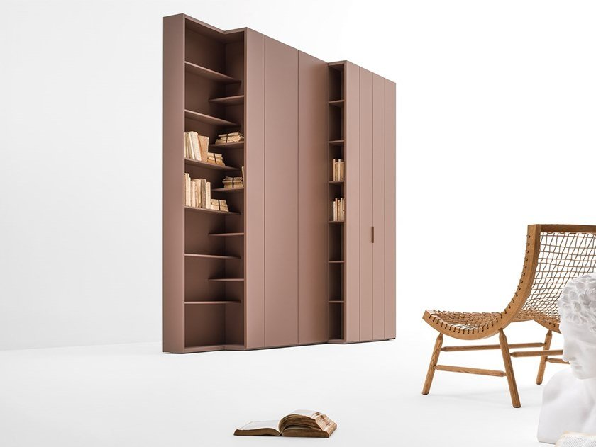 Sectional wardrobe CORE | Wooden wardrobe by Caccaro