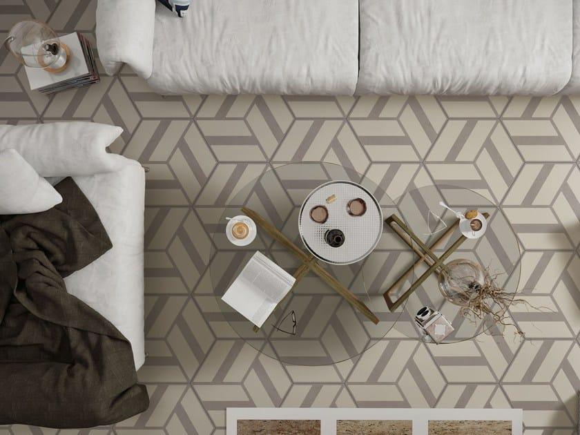 Glazed stoneware flooring COREBASICS | Flooring by ORNAMENTA