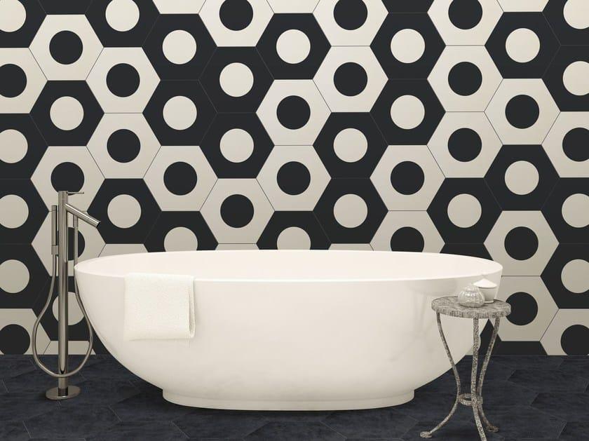 Indoor glazed stoneware wall tiles COREBASICS | Wall tiles by ORNAMENTA
