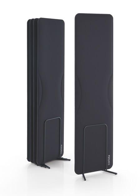 Decorative acoustical panel CORISTA by Caimi Brevetti