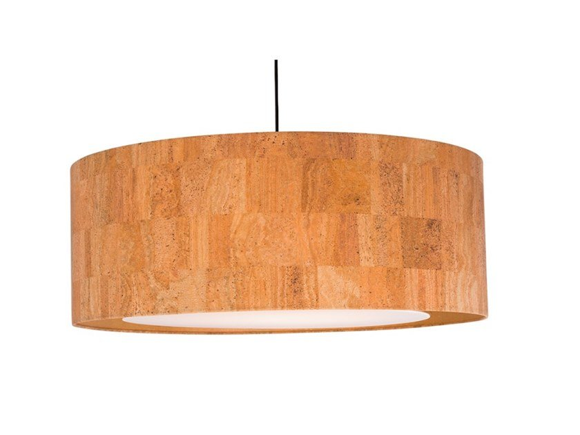 Cork pendant lamp CORK by Flam & Luce