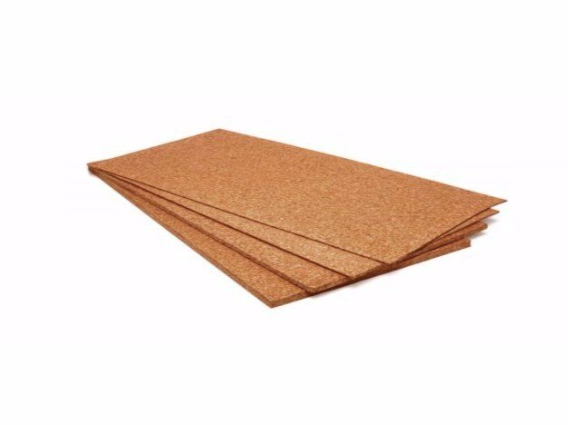 Cork thermal insulation panel / sound insulation panel CORKPANEL by Sace Components