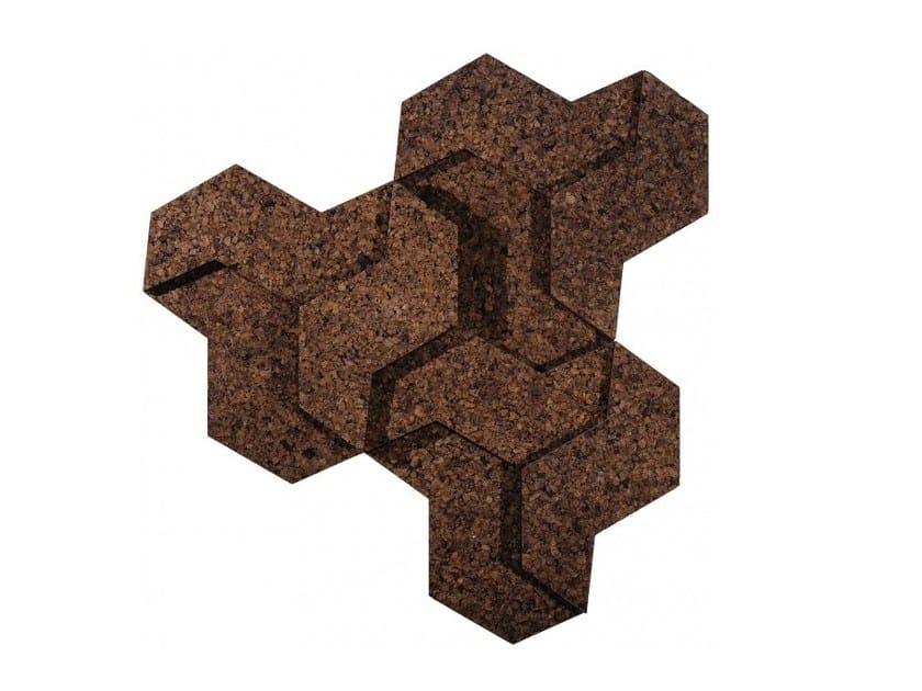 Cork wall tiles CORKUNIT by GENCORK