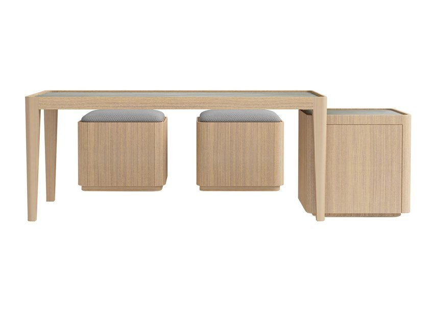Plywood coffee table CORNER | Coffee table by ZENS Lifestyle