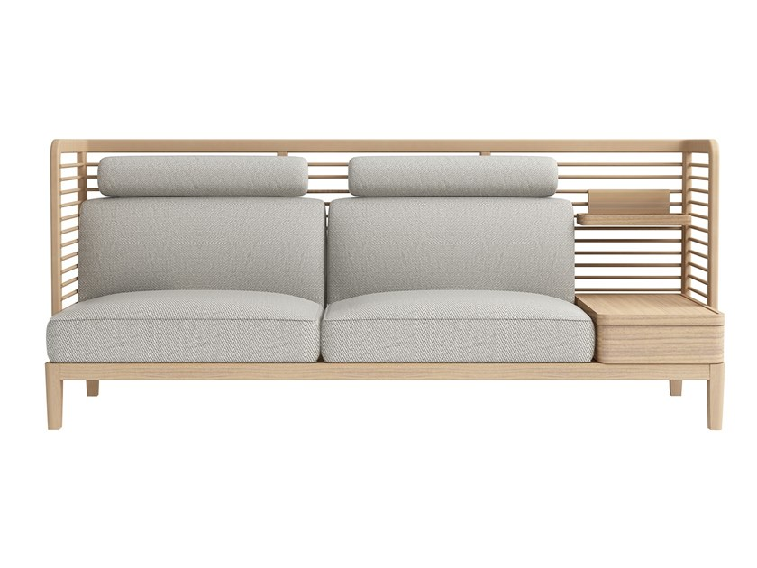 2 seater fabric sofa with storage space CORNER   Sofa by ZENS Lifestyle