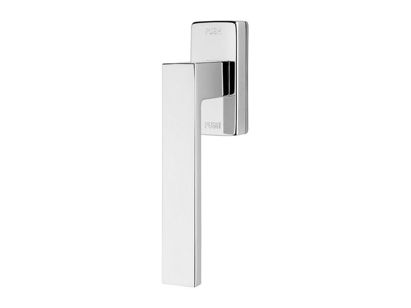 Contemporary style anti-intrusion DK metal window handle CORNER ZINCRAL | Anti-intrusion window handle by LINEA CALI'