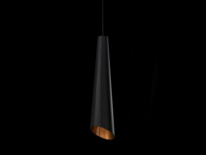 Lampada a sospensione a luce diretta alogena CORNETTA by LUNOO