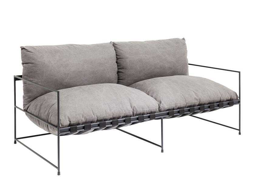 2 seater fabric sofa CORNWALL | 2 seater sofa by KARE-DESIGN