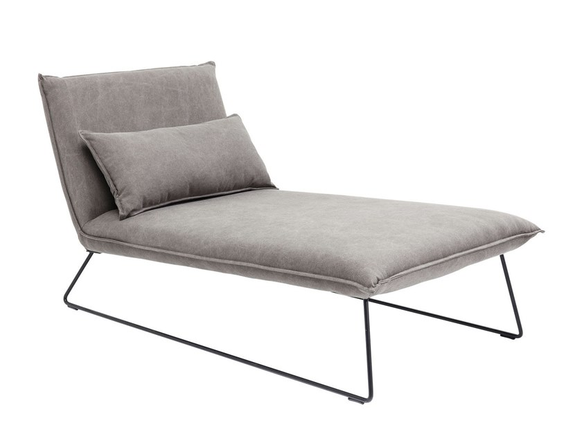 Fabric lounge chair CORNWALL | Lounge chair by KARE-DESIGN