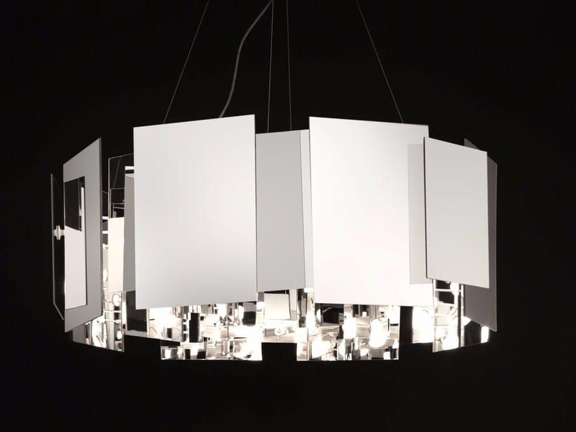 PMMA pendant lamp COROA - 480 by Oluce