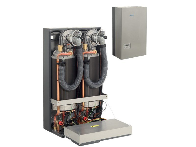 Class A wall-mounted metal condensation boiler COROLLA 501-502 by THERMITAL