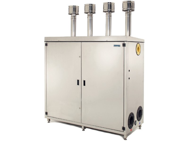 Gas Class A stainless steel condensation boiler COROLLA PACK SERIE 1000 INOX by THERMITAL