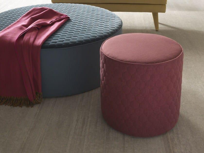 Fabric pouf COROLLE | Pouf by Bolzan Letti