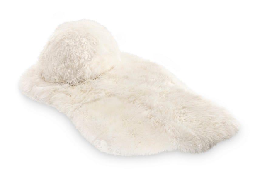 Long pile Sheepskin rug CORONUM | Rug by Scarlet Splendour