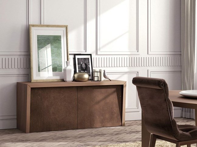 Wooden sideboard CORTINA by Scandal