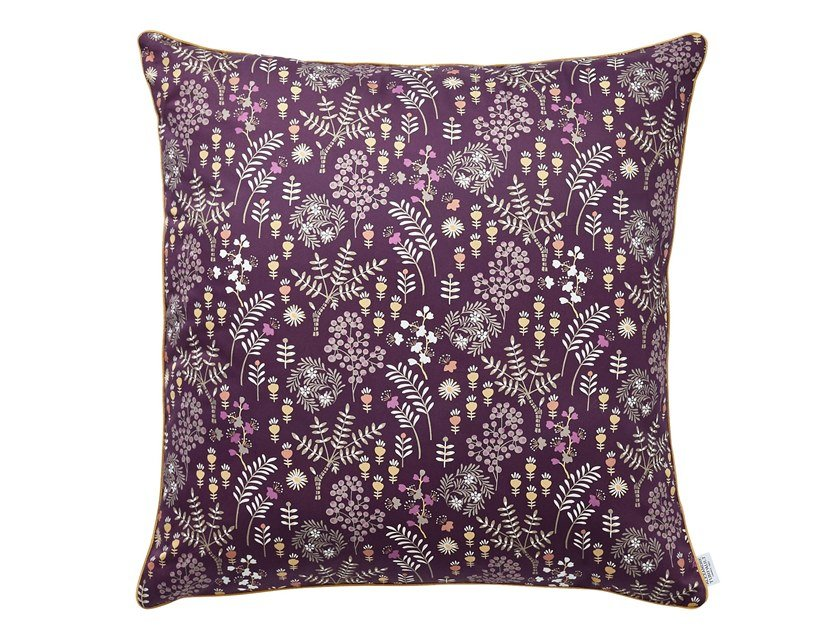 Cotton pillow case with floral pattern COSIMA | Pillow case by Alexandre Turpault