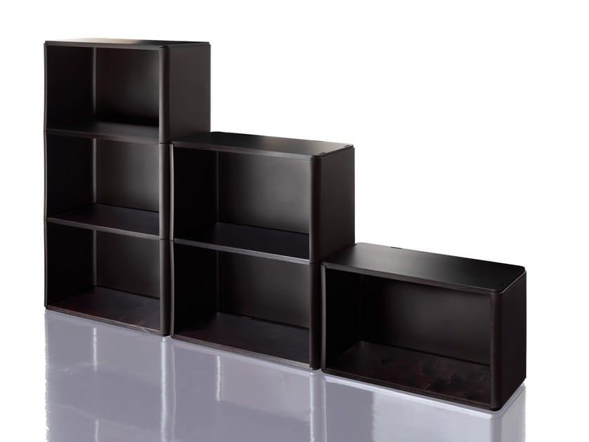 Sectional modular polypropylene bookcase COSINO by Magis