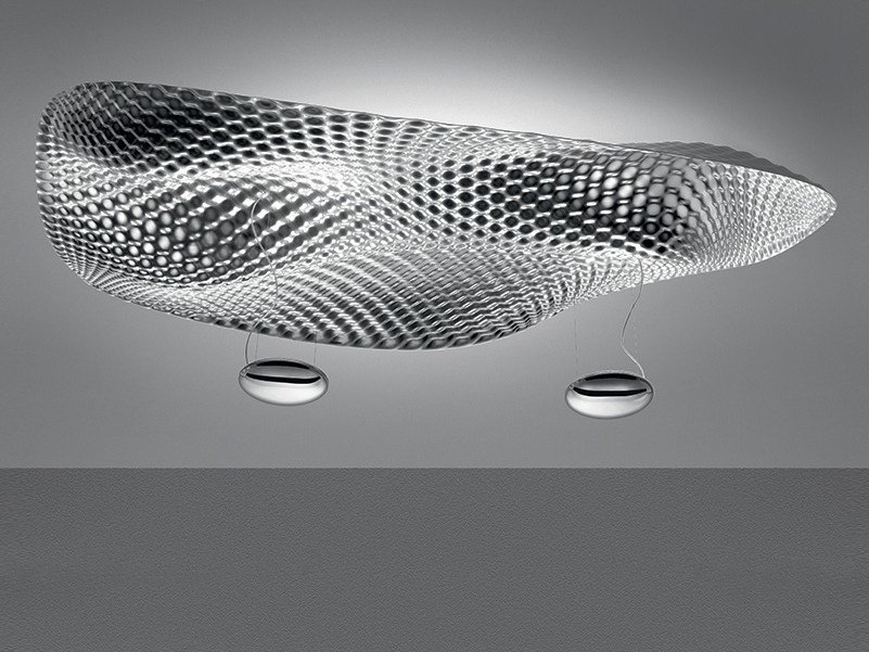 Indirect light fluorescent ceiling lamp COSMIC ANGEL | Ceiling lamp by Artemide