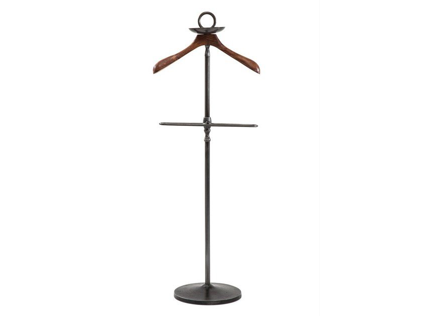 Steel and wood valet stand COSMOPOLITAN | Valet stand by KARE-DESIGN