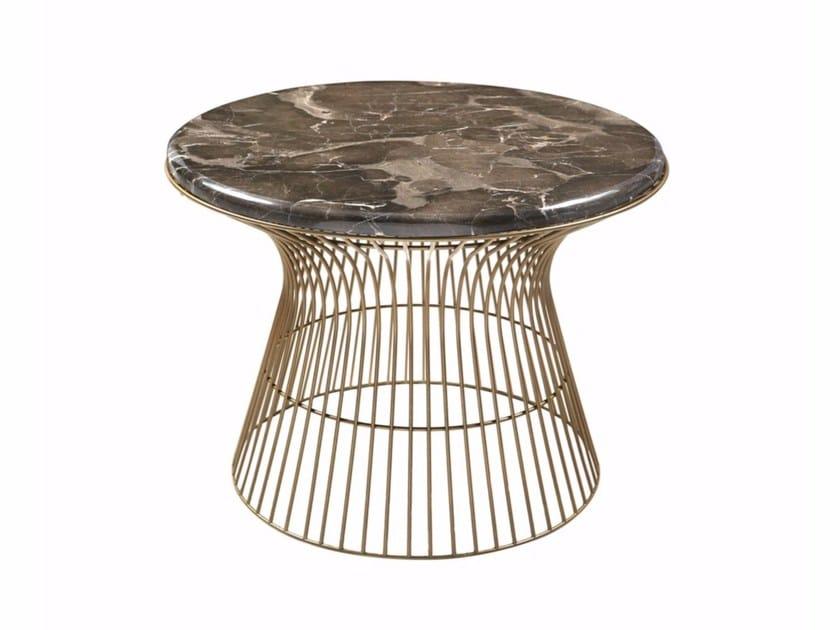 Round marble coffee table COSMOS COCKTAIL S by Hamilton Conte Paris