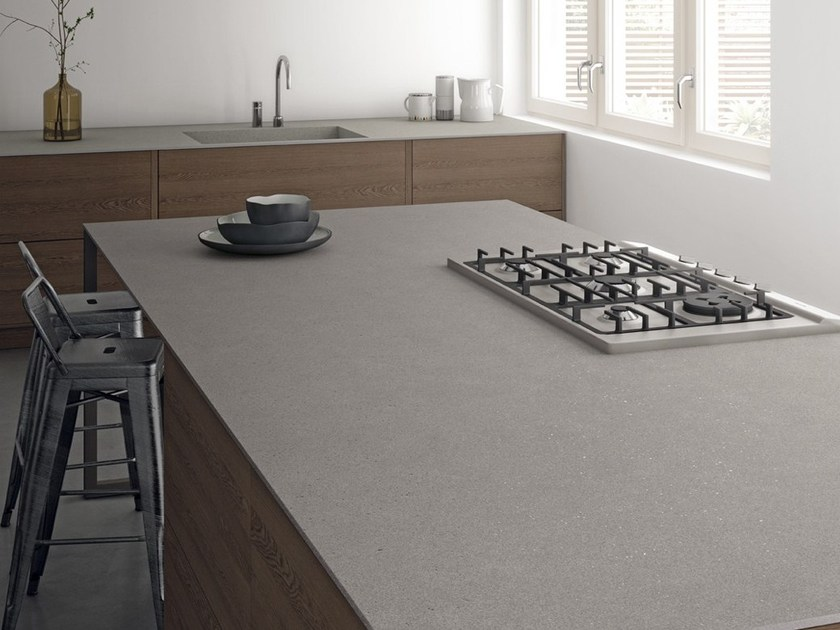 Porcelain stoneware kitchen worktop COSMOS ITOPKER by Inalco