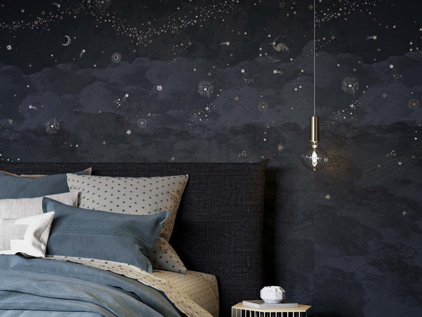 Panoramic wallpaper COSMOS NUIT by Isidore Leroy
