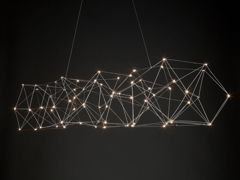 Lampada a sospensione a LED in metallo COSMOS | Lampada a sospensione by Quasar