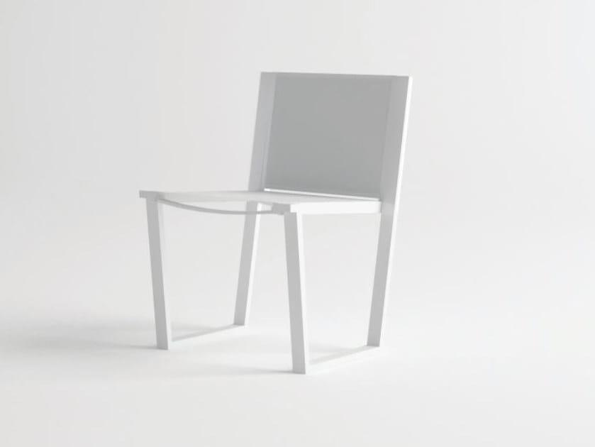 Aluminium garden chair COSTA | Chair by 10Deka