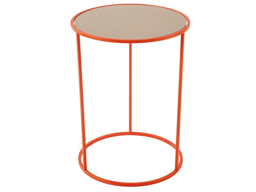 Round Metal Side Table COSTANCE | Round Coffee Table By Meme Design