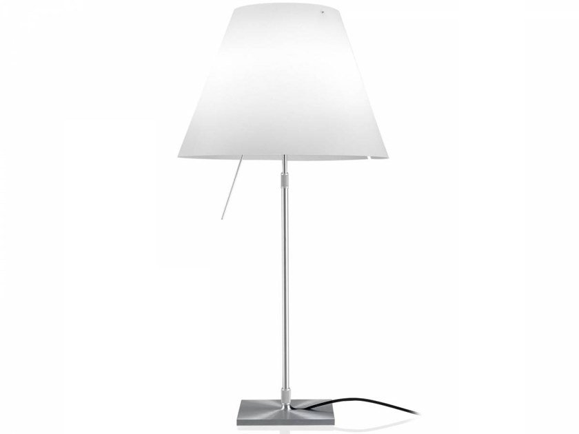 LED polycarbonate table lamp COSTANZA LED | Table lamp by LUCEPLAN