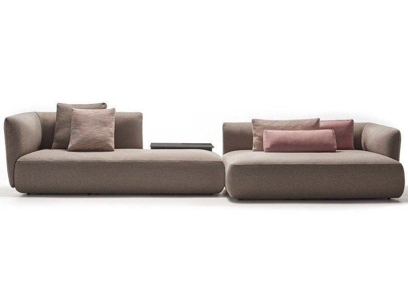 Sectional fabric sofa COSY | Sectional sofa by MDF Italia