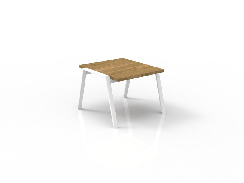 Square iroko side table COTTAGE | Side table by Talenti