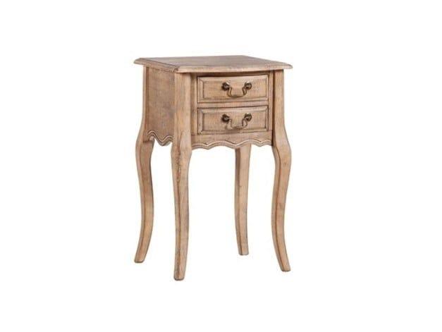 Tavolino quadrato in legno COTTET by Arrediorg.it®