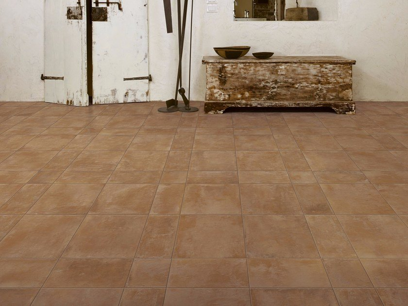 Porcelain stoneware wall/floor tiles with terracotta effect COTTI D'ITALIA by MARAZZI