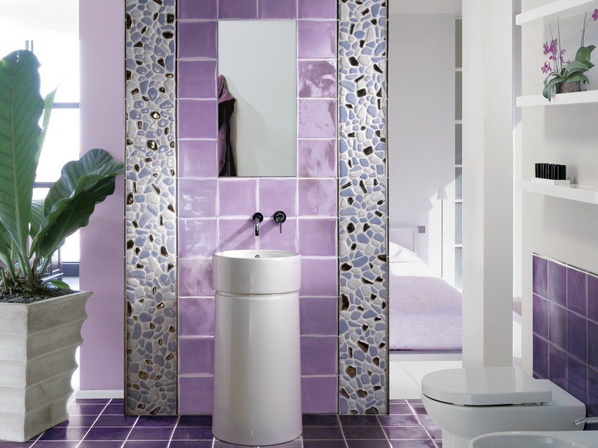 Indoor quarry wall tiles COTTO GLAMOUR   Wall tiles by Cerasarda