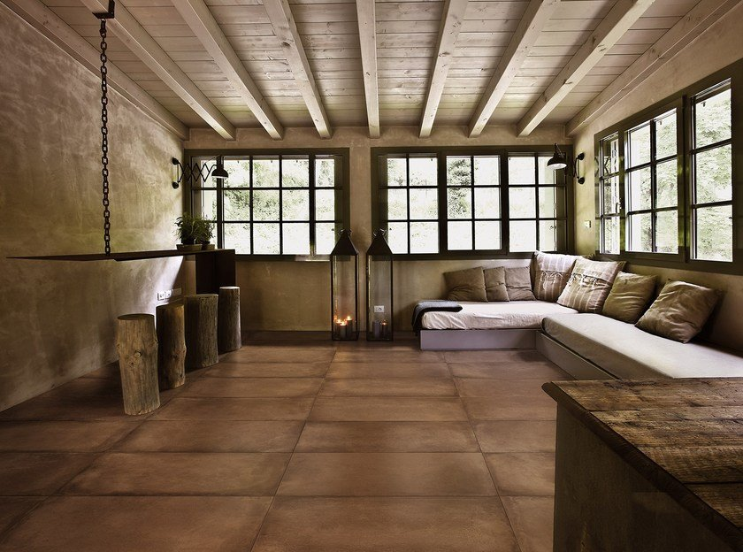 Full-body porcelain stoneware wall/floor tiles with terracotta effect COTTO TOSCANA by MARAZZI