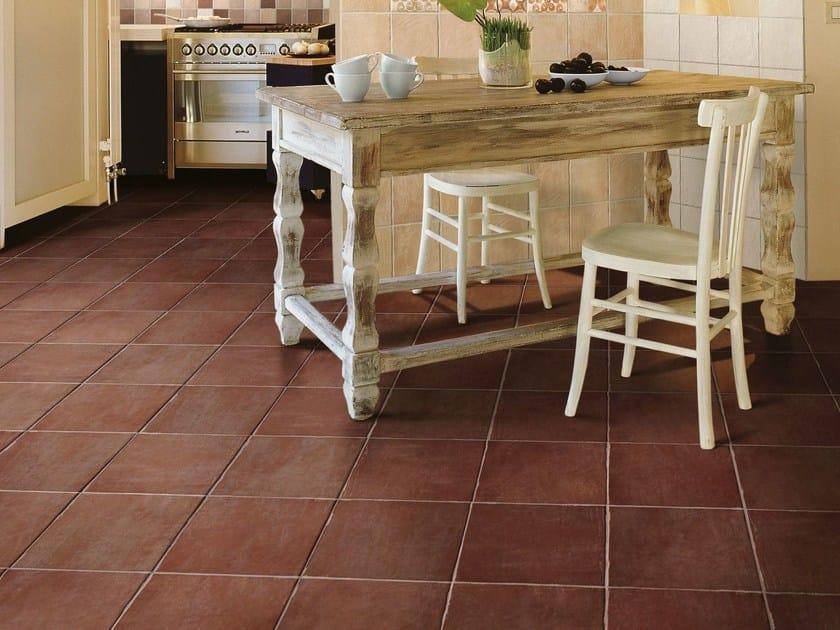 Glazed stoneware flooring COTTO VOGUE | Flooring by CIR