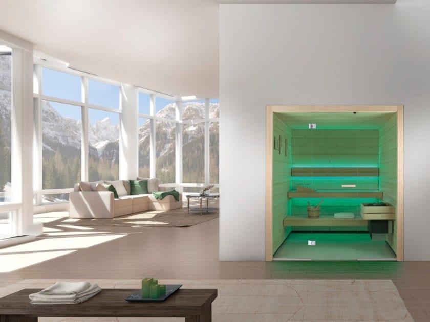 Sauna finlandese con cromoterapia COUNTRY by CARMENTA